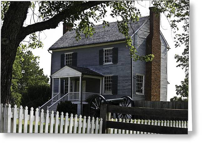 Richmond-lynchburg Stage Road Greeting Cards - George Peers House Appomattox Virginia Greeting Card by Teresa Mucha
