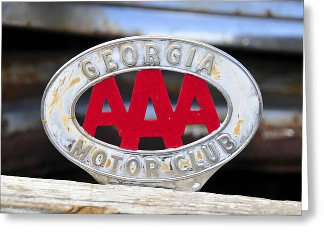 Aaa Greeting Cards - Georgia Motor Club Greeting Card by David Lee Thompson