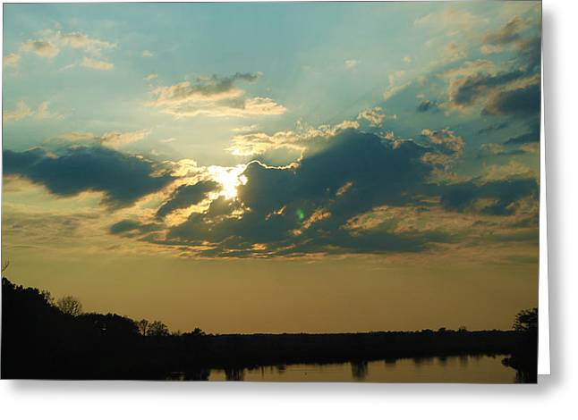 Tanya Chesnell Greeting Cards - Georgia Skies Greeting Card by Tanya Chesnell