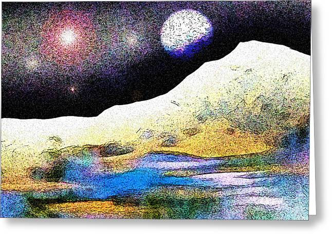 Visionary Artist Greeting Cards - Getting the Point Greeting Card by George  Page