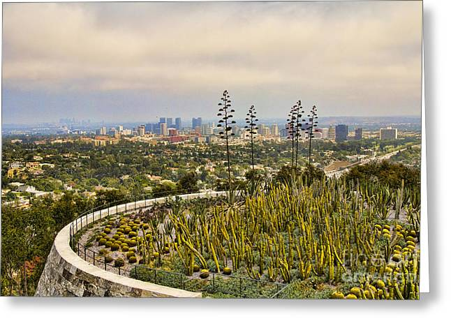 Getty Greeting Cards - Getty Museum V Greeting Card by Chuck Kuhn