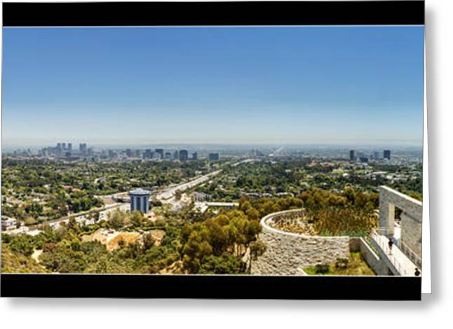 Getty Greeting Cards - Getty Panorama Greeting Card by Ricky Barnard