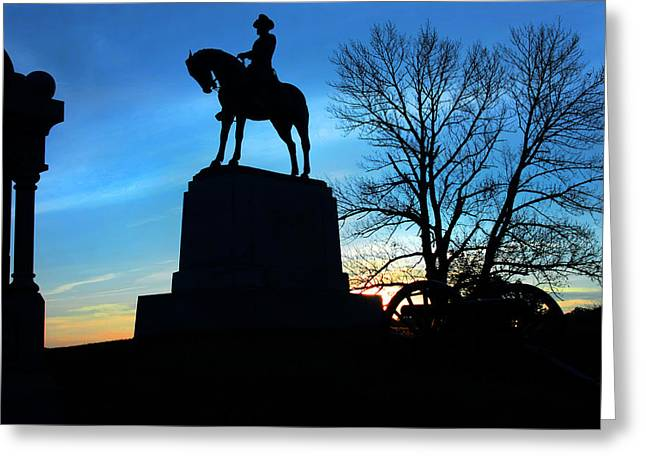 Devils Den Greeting Cards - Gettysburg Blues Greeting Card by Mike Flynn