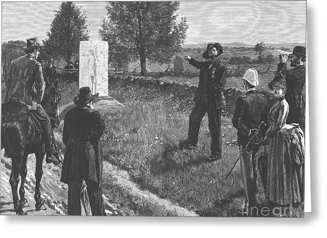 Philadelphia Brigade Greeting Cards - Gettysburg Reunion, 1887 Greeting Card by Granger