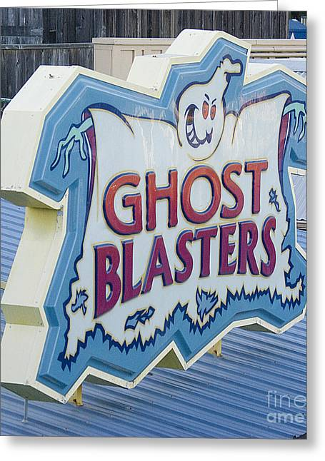 Santa Cruz Ca Greeting Cards - Ghost Blasters Greeting Card by Jim and Emily Bush