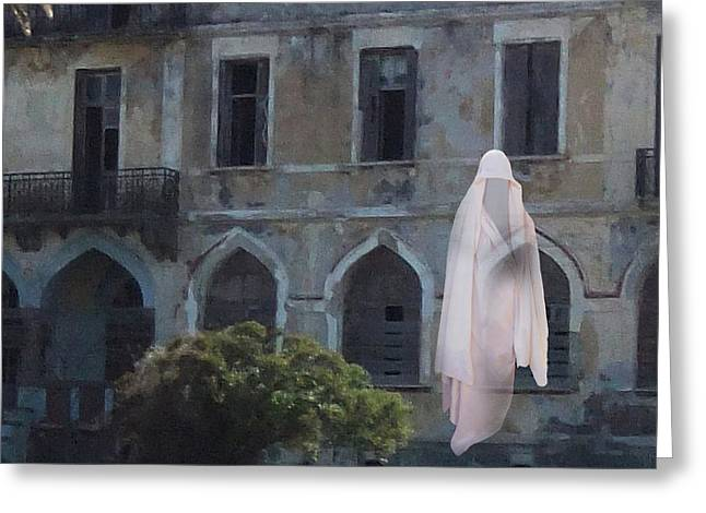 Ghost  Greeting Card by Eric Kempson