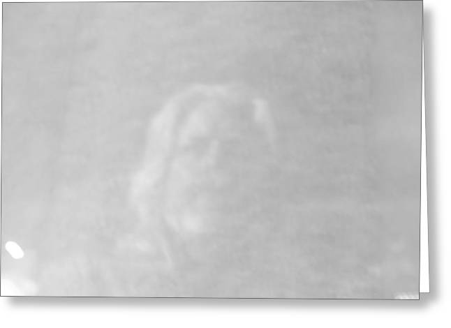 Self-portrait Photographs Greeting Cards - Ghost Greeting Card by James Granberry