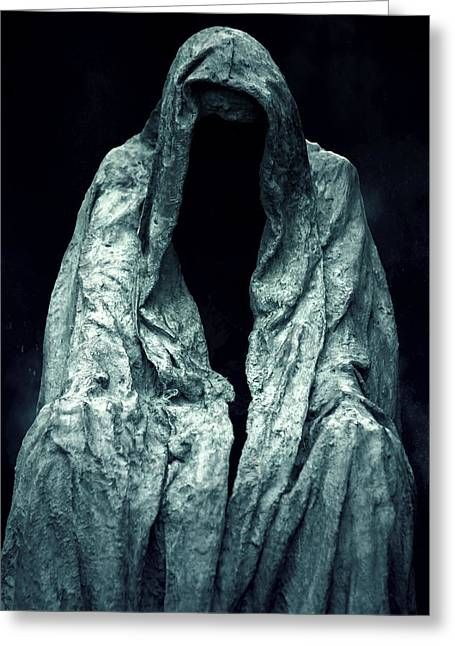 Sculptures Greeting Cards - Ghost Greeting Card by Joana Kruse