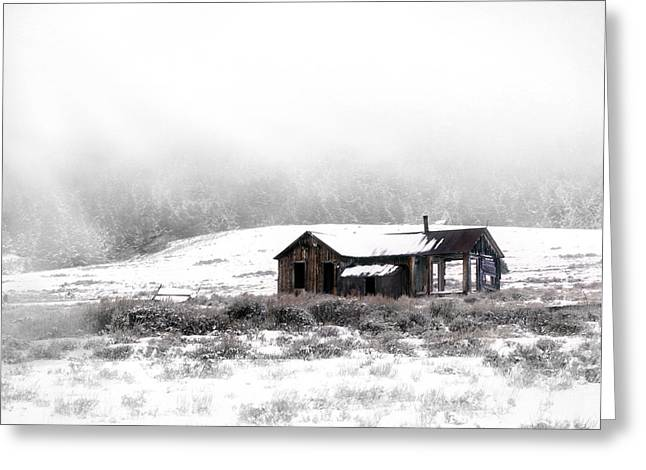 Idaho Greeting Cards - Ghost Town Greeting Card by Leland D Howard