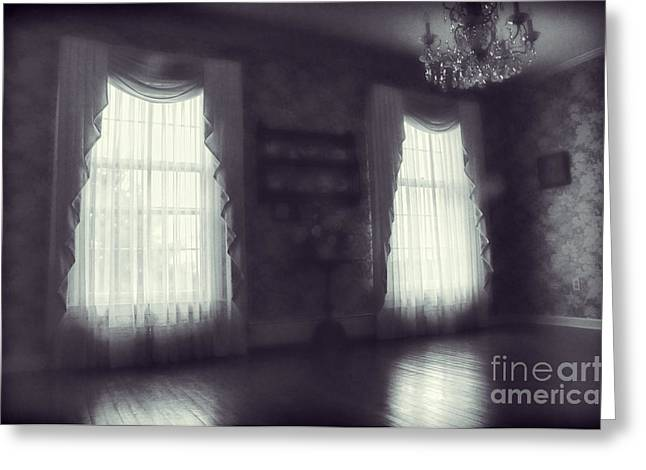 Ghostly Greeting Cards - Ghosts Greeting Card by HD Connelly