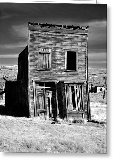 Mining Photos Greeting Cards - Ghosts of Bodie  Greeting Card by Matt MacMillan