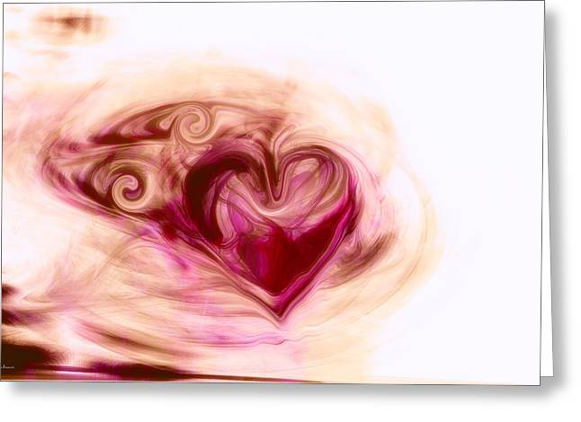 Gift Of Love Greeting Cards - Gift of Love Greeting Card by Linda Sannuti