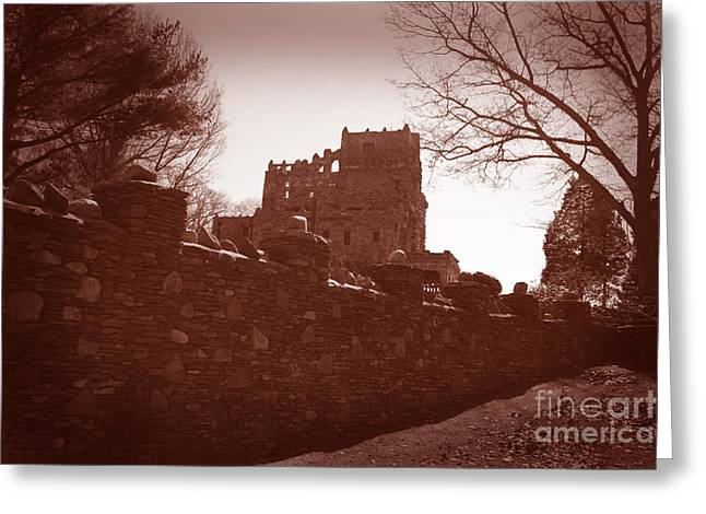Gillette Castle.03 Greeting Card by John Turek