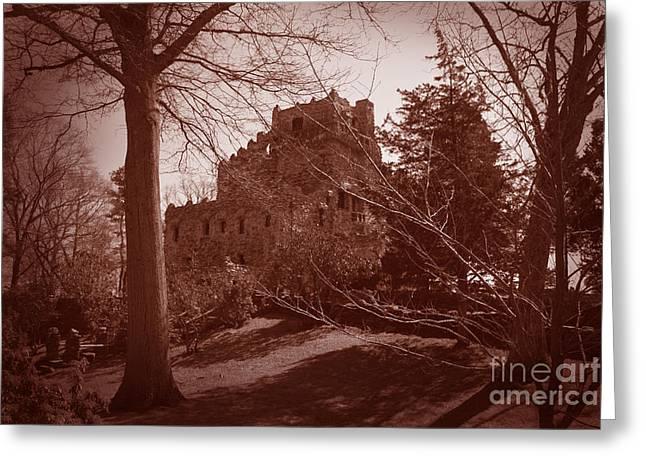 Gillette Castle Greeting Cards - Gillette Castle.04 Greeting Card by John Turek