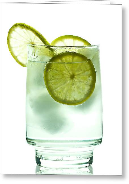 Mojito Greeting Cards - Gin and Tonic Greeting Card by Gert Lavsen