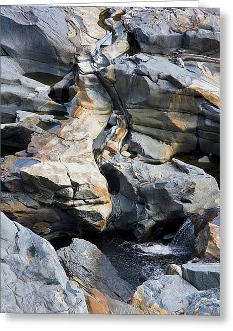 Glacial Potholes Greeting Cards - Glacial Pothole II Greeting Card by Michael Friedman
