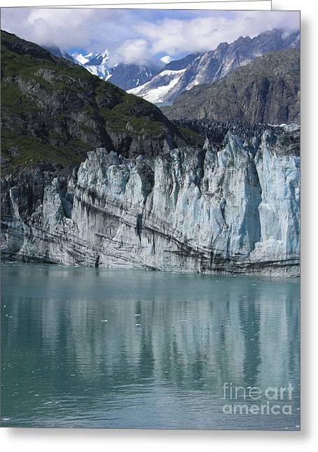 Glacier Bay Greeting Cards - Glacier Bay Majesty Greeting Card by Sandra Bronstein