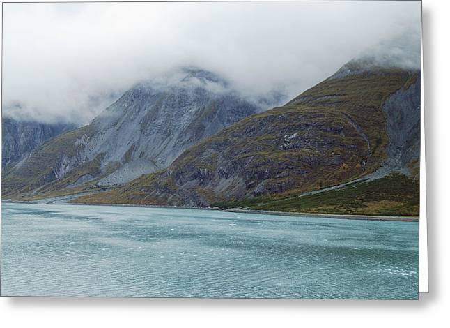 Glacier Bay Greeting Cards - Glacier Bay Tarr Inlet Greeting Card by Michael Peychich