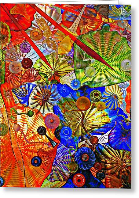 Glass Ceiling Greeting Cards - Glass Ceiling Greeting Card by Randall Weidner