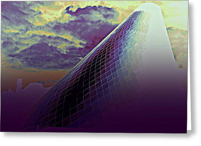 """glass Museum"" Greeting Cards - Glass Museum 2 Greeting Card by Randall Weidner"