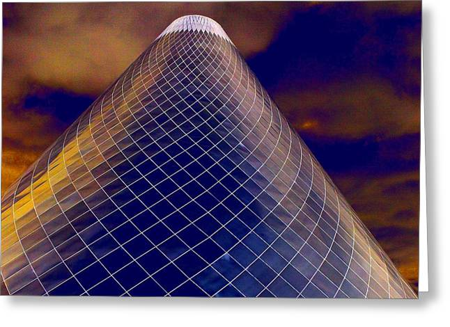 """glass Museum"" Greeting Cards - Glass Museum 3 Greeting Card by Randall Weidner"