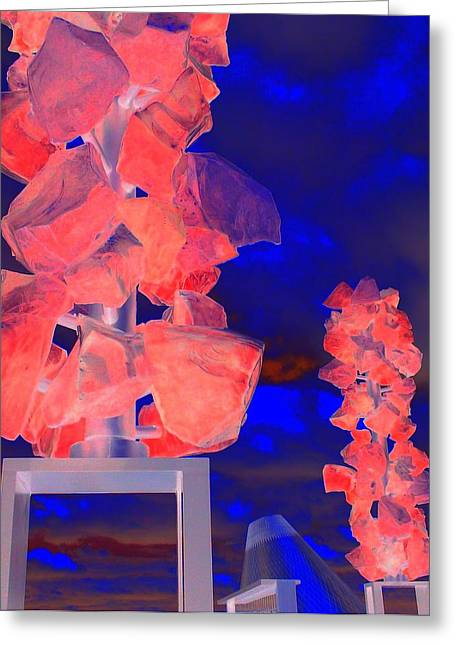 """glass Museum"" Greeting Cards - Glass Museum 4 Greeting Card by Randall Weidner"