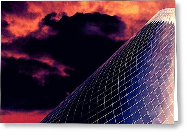 """glass Museum"" Greeting Cards - Glass Museum 8 Greeting Card by Randall Weidner"