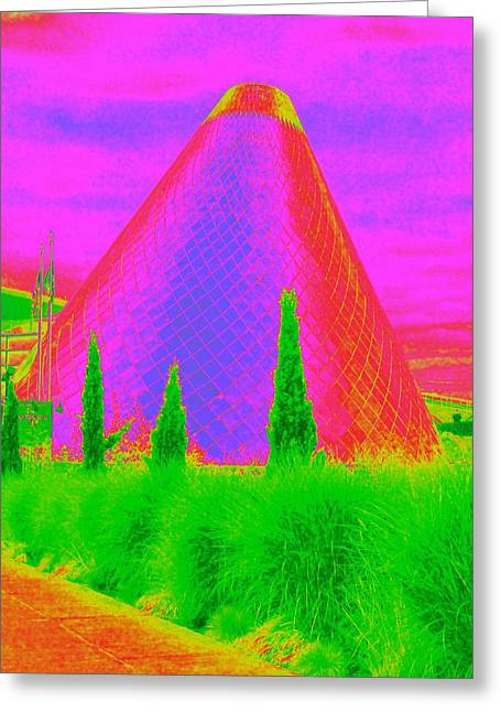 """glass Museum"" Greeting Cards - Glass Museum Greeting Card by Randall Weidner"