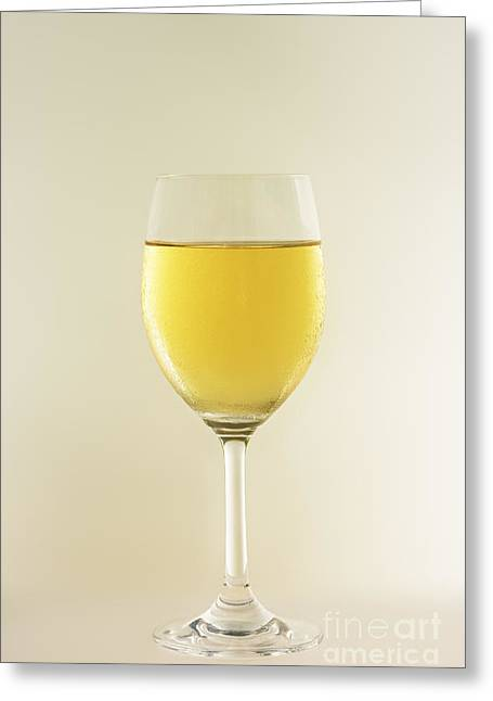Wine Pour Greeting Cards - Glass of whine Greeting Card by MotHaiBaPhoto Prints