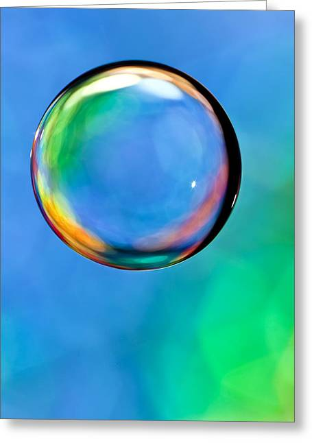 Tincture Greeting Cards - Glass Orb 2 Greeting Card by Al Hurley