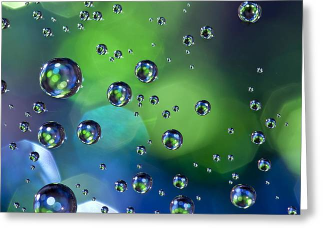 Tincture Greeting Cards - Glass Orbs 7 Greeting Card by Al Hurley