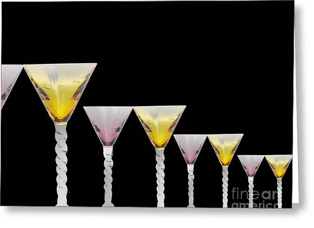 Glasses Greeting Card by Cheryl Young
