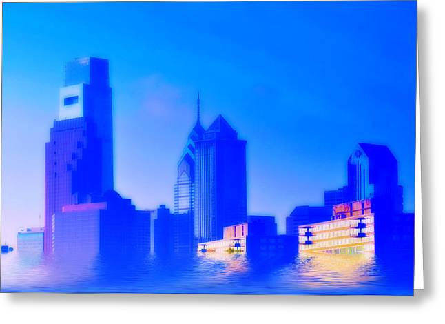 Flood Digital Art Greeting Cards - Global Warming Greeting Card by Bill Cannon
