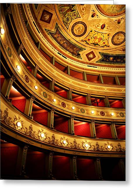 Marilyn Hunt Greeting Cards - Glorious Old Theatre Greeting Card by Marilyn Hunt