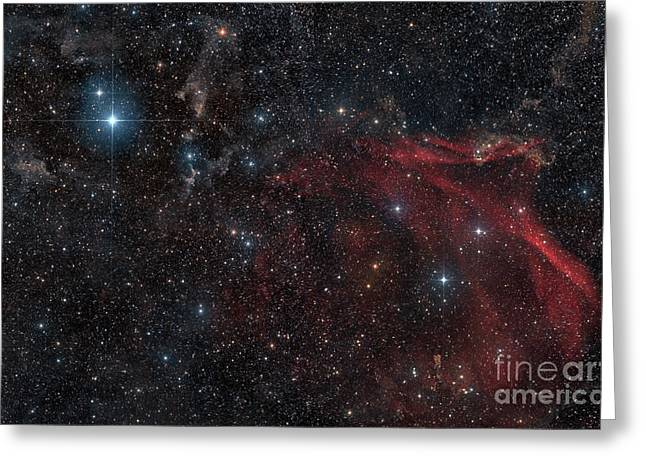 Twinkle Greeting Cards - Glowing And Reflecting Nebulosity Greeting Card by John Davis