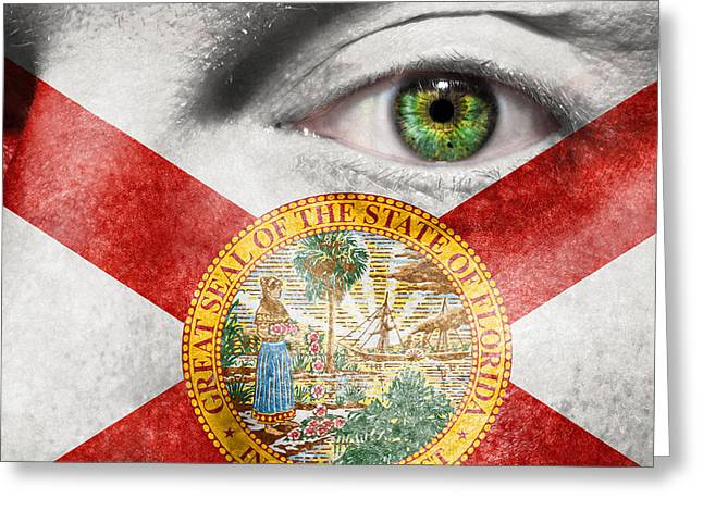 Jacksonville Greeting Cards - Go Florida  Greeting Card by Semmick Photo