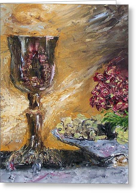 Stephen King Greeting Cards - Goblet Greeting Card by Stephen King