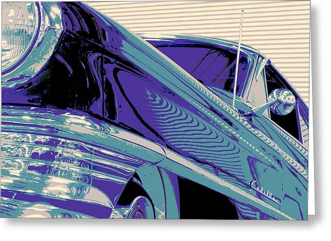 Tricked-out Cars Greeting Cards - God Father Greeting Card by Chuck Re