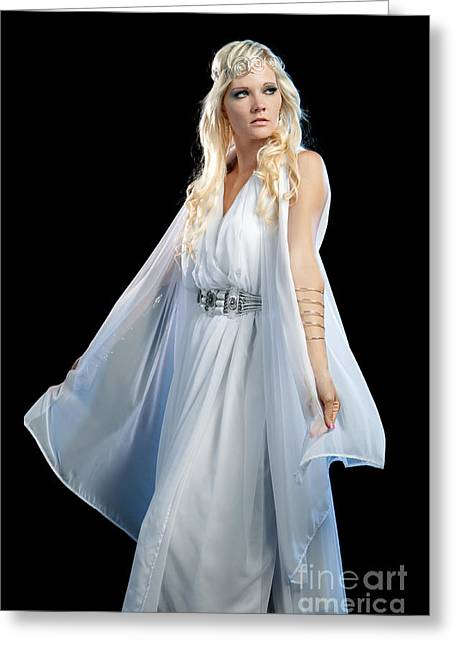Idaho Photographer Greeting Cards - Goddess Greeting Card by Cindy Singleton