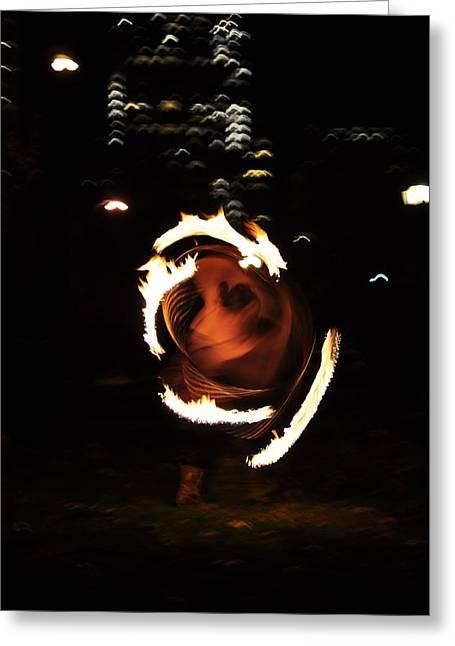 Fire Pyrography Greeting Cards - Goddess Kali Greeting Card by Joseph  Cusano IV