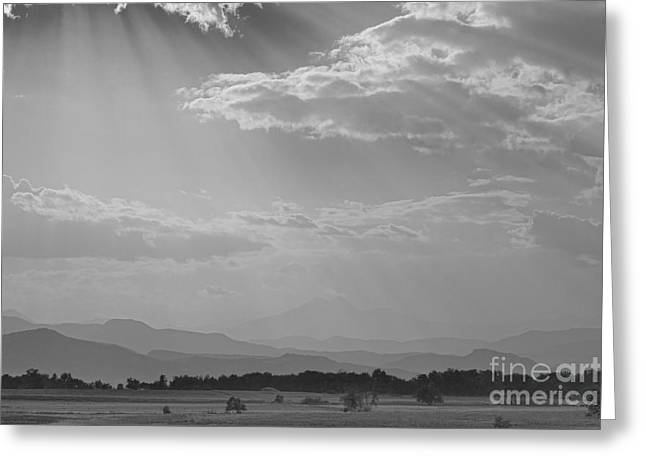 Card Stock Greeting Cards - Gods Country BW Greeting Card by James BO  Insogna