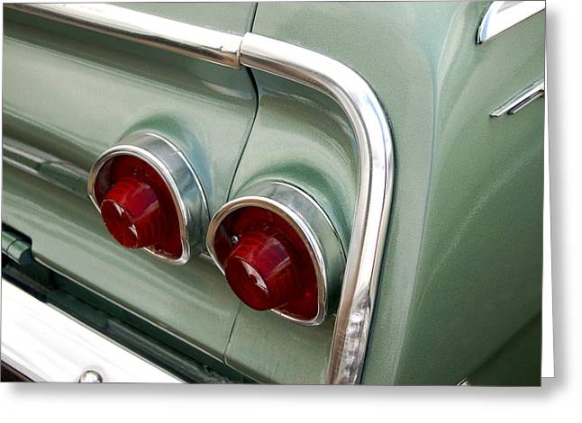 Muscle Car Photographs Greeting Cards - Going Green Greeting Card by Gabe Arroyo