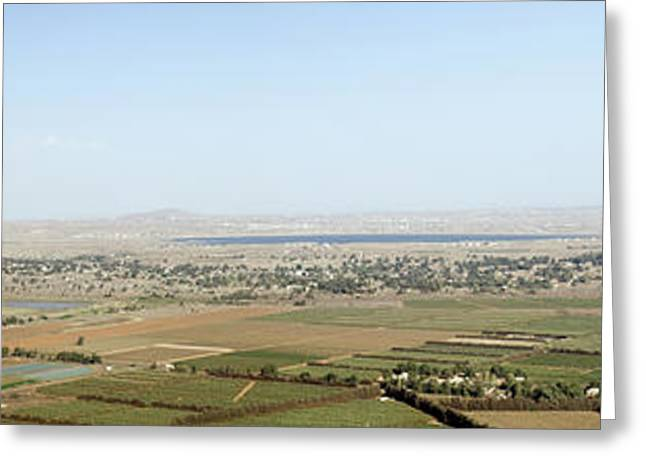 Vale Greeting Cards - Golan Heights Greeting Card by Ilan Rosen