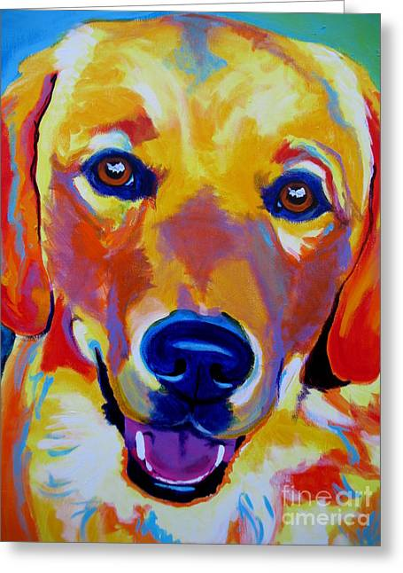 Alicia Vannoy Call Greeting Cards - Golden - Sheamus Greeting Card by Alicia VanNoy Call