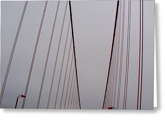 Pfeiffer Beach Greeting Cards - Golden Gate Bridge Crossing Greeting Card by PJQandFriends Photography