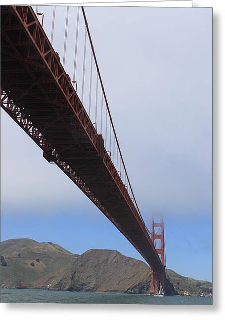 Bay Bridge Greeting Cards - Golden Gate Greeting Card by Rob Hoffman