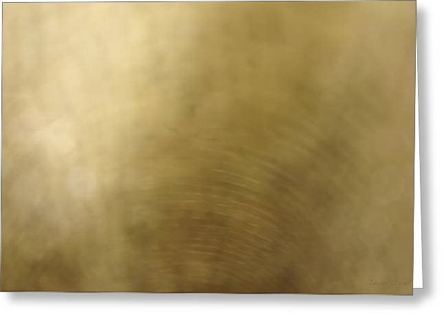 Large Scale Greeting Cards - Golden Light Greeting Card by Leon Oziel