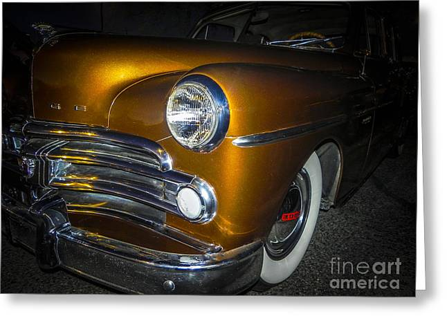 Tricked-out Cars Greeting Cards - Goldy Hawn Greeting Card by Chuck Re