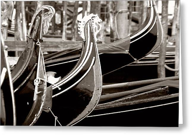 Gondola Park Greeting Card by Photography Art