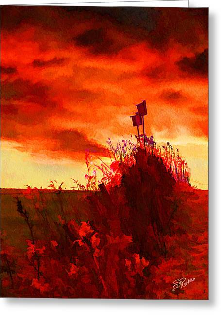 Peaceful Scenery Greeting Cards - Gone South Greeting Card by Suni Roveto
